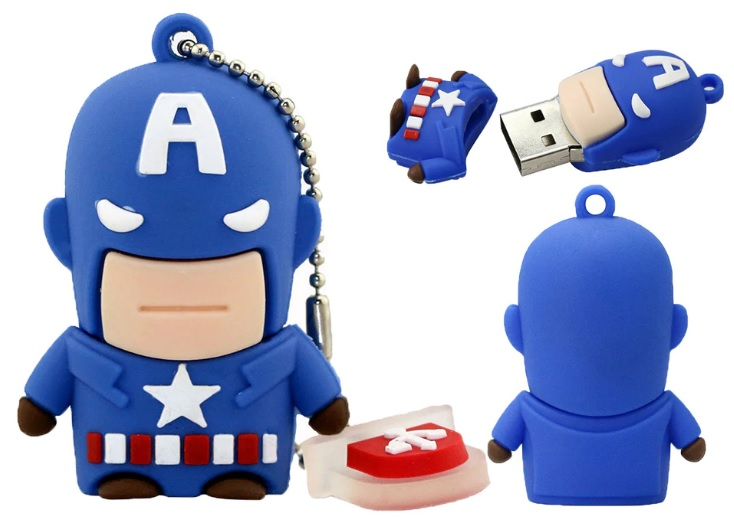 USB flash disk Capitain AMERICA, 32 Gb