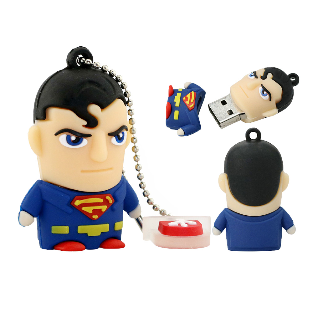 USB flash disk SUPERMAN, 32 Gb